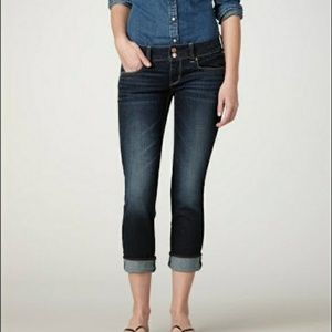 American Eagle Artist Crop Super Stretch Jeans